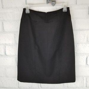Worthington Black Career Style Skirt. Size 6